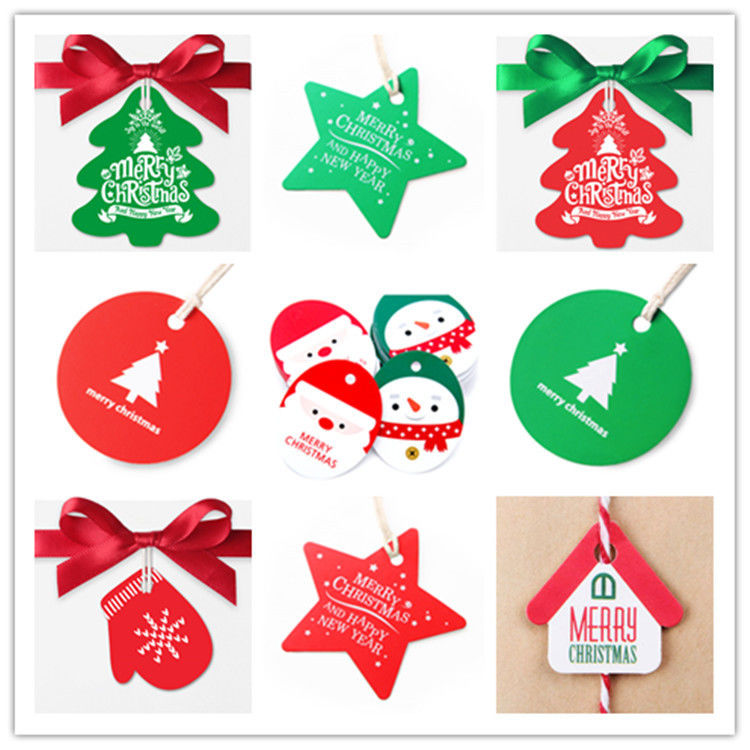 Eco Friendly Custom Card Printing Offset Printing For Christmas Gift