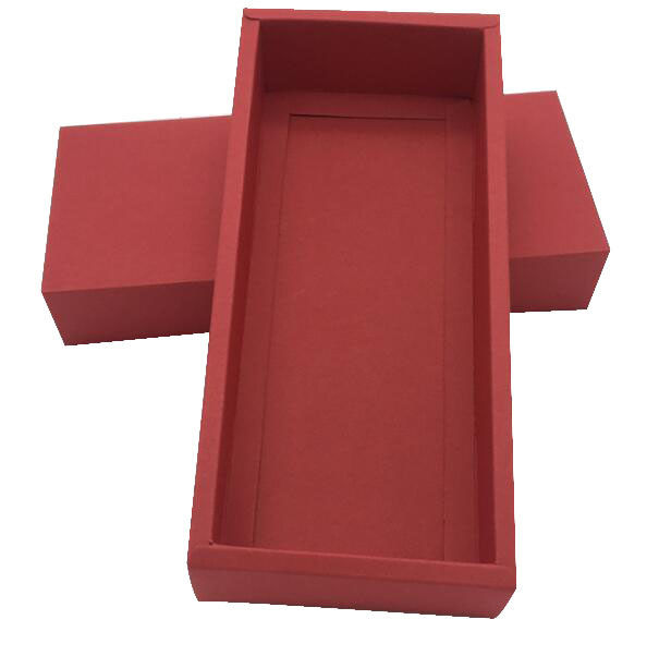 Foldable Christmas Gift Box Packaging Drawer Fancy Paper Box UV Printing